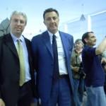 mostra fotografica Walter Chiari - il Produttore Luca BARBARESCHI E Alex DI GIORGIO