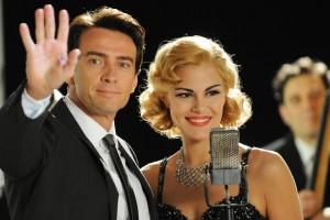 Alessio Boni interpreta Walter Chiari e con Bianca Guaccero. foto concesse da Luca Barbareschi. esposte nella  mostra fotografica