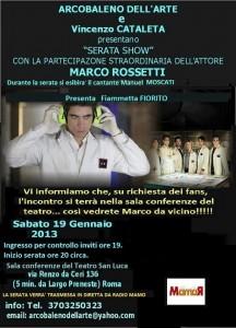 MARCO ROSSETTI SHOW